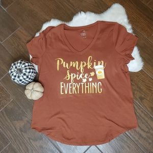 Pumpkin Spice Everything Graphic Tee